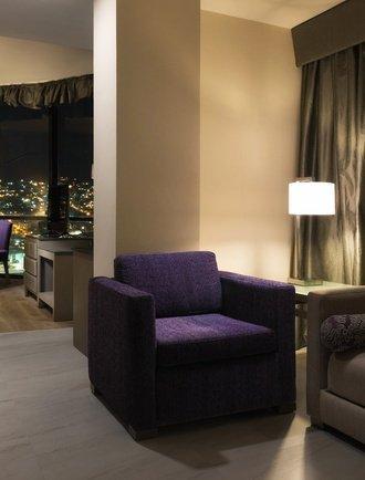 Living Room Krystal Monterrey Hotel Monterrey
