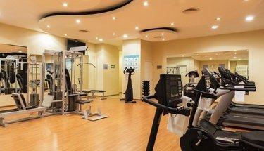 Gym Krystal Monterrey Hotel Monterrey