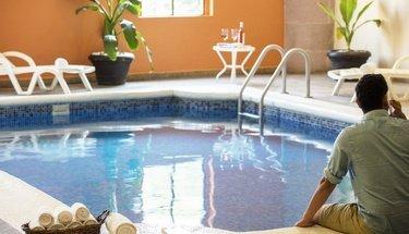 Swimming pool Krystal Monterrey Hotel Monterrey